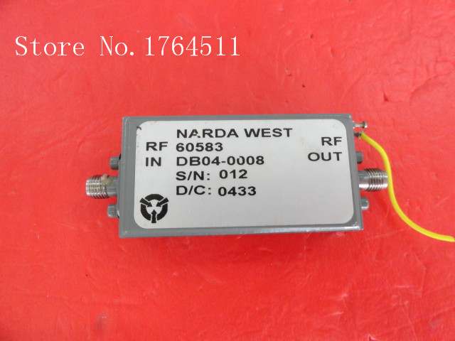 [BELLA] The Supply Of NARDA RF Amplifier With 60583 6-18GHz 15V SMA