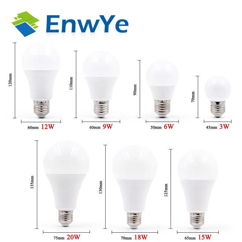 10 Pcs Lampu LED E27 AC 220V LED Bola Lampu LED Table Lamp 3W 6W 9W 12W 15W 18W 20W 24W