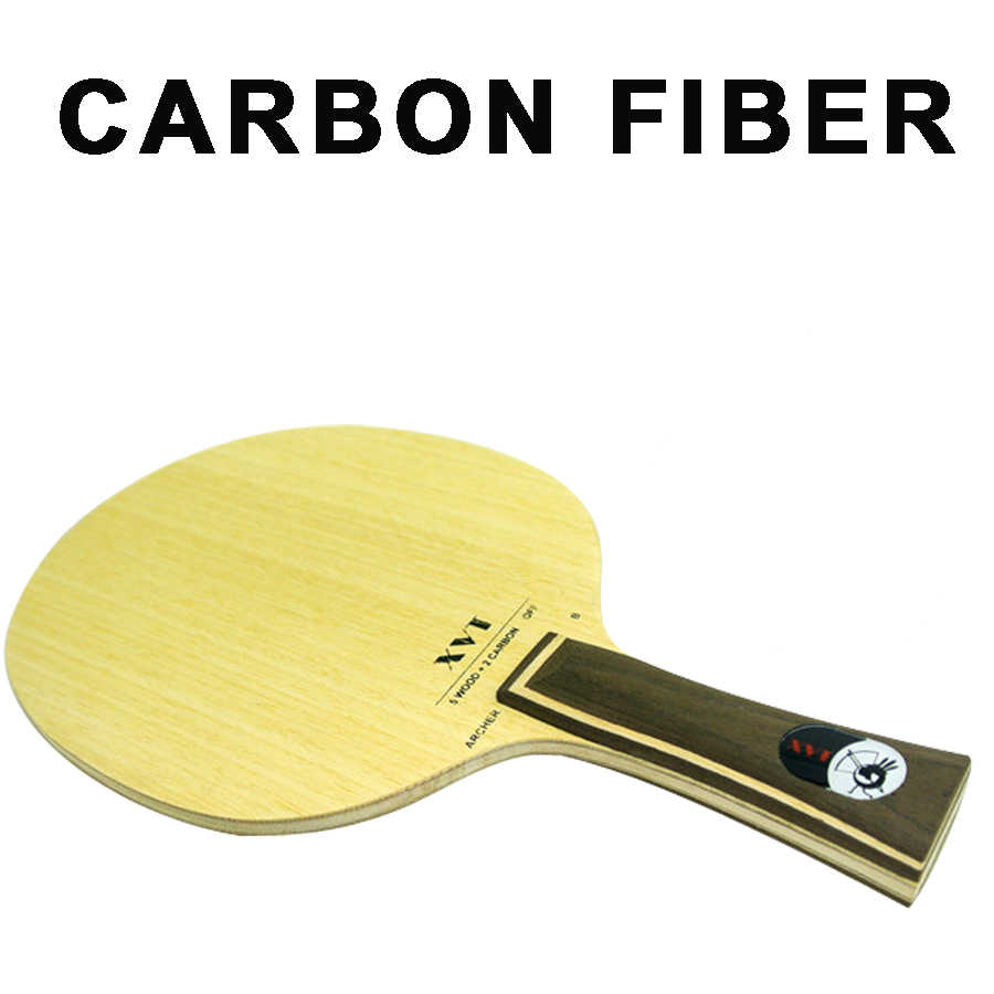 XVT ARCHER-B  Professional  Carbon Fiber Table Tennis paddle/ Table Tennis Blade/ table tennis bat  send edge tape Free Shipping
