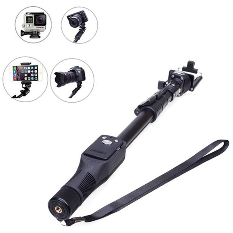 Phone Selfie Stick Bluetooth Extendable Handheld Tripod Monopod For iPhone Samsung Gopro DSLR Camera @JH