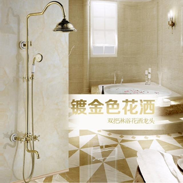Merveilleux Xogolo Rotatable Lifting Type Luxury Wall Mounted Modern Shower Head  Bathroom Faucet Shower Set Accessories