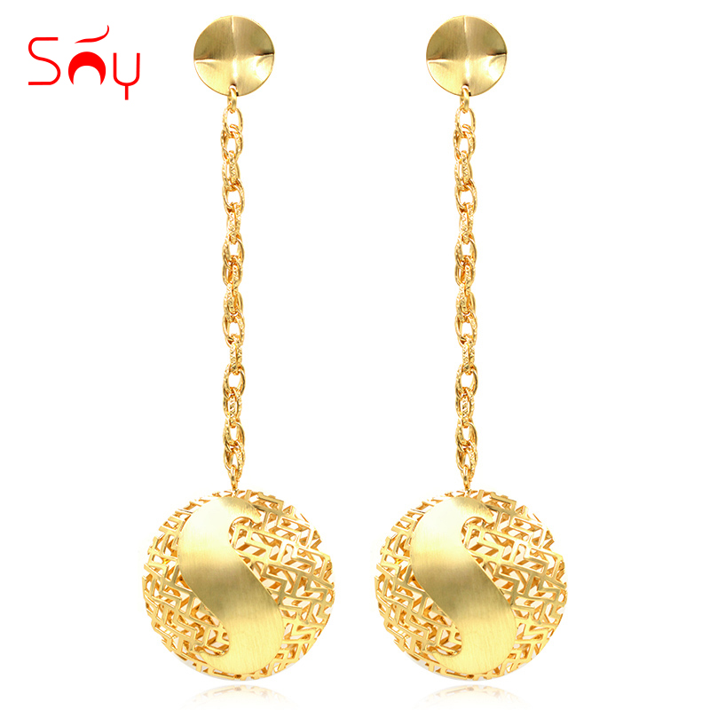 Sunny Jewelry Fashion Jewelry 2019 Long Drop Dangle Womens Earrings Exquisite Jewelry Round Moon For Wedding Party Daily WearSunny Jewelry Fashion Jewelry 2019 Long Drop Dangle Womens Earrings Exquisite Jewelry Round Moon For Wedding Party Daily Wear
