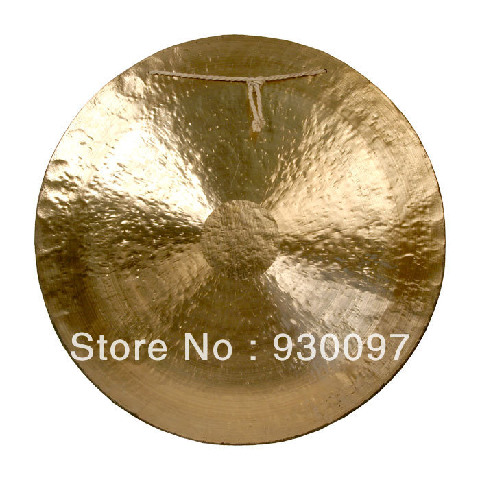 high quality brass gong !100% handmade bronze gong,20''chinese traditional Wind  GONG arborea chinese 20 inch wind gong hot sale