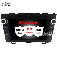 Car CD DVD Player GPS navigation For Honda CRV CR V 2006 2011 multimidia 2 din radio Android 8.1 4GB+32GB 8'' IPS Screen stereo