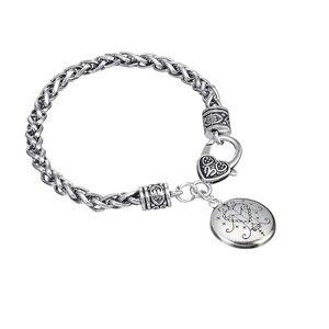 Image 5 - Fishhook Dropshipping  Ezili Freda Voodoo Loa Veve Pendant Vodoun Lwa Love Talisman Jewelry Hoodoo Amulet Fashion Bracelet