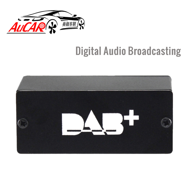 AuCAR DAB+ Radio Tuner USB DAB+ Digital Radio Receiver Antenna for Android Car Radio