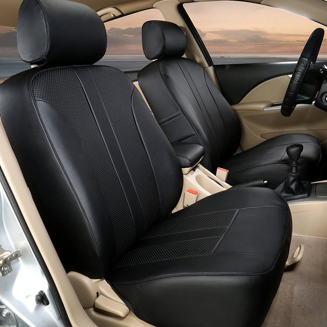 Aliexpress Buy PU Leather Car Seat Covers For
