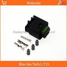 TE/AMP 968402 1 C 3 контактный/way автомобильный радар разъем датчика, автомобильный светильник, водонепроницаемый Электрический штекер для BMW