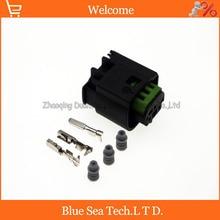 Te/amp 968402 1 c 3ピン/ウェイ自動レーダーセンサープラグコネクタ、オートライト防水電気プラグ用bmw