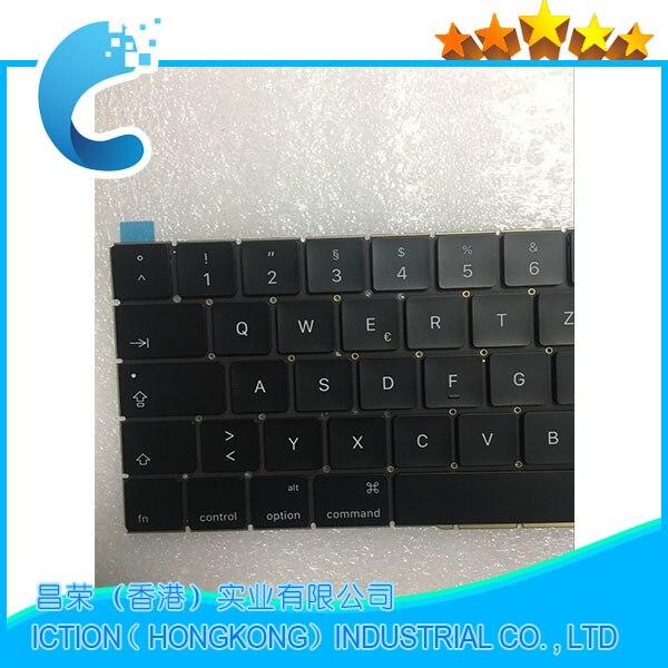 Оригинальный Новый A1706 клавиатура Пособия по немецкому языку ЕС ЕВРО для MacBook Pro 13,3 retina A1706 Пособия по немецкому языку клавиатура DE Deutsch QWERTZ ...