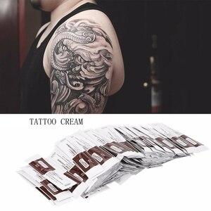 Image 1 - 25/35/50/100Pcs Fougera Vitamine Zalf A & D Anti Litteken Tattoo Nazorg Crème Voor tattoo body Permanente Make Up Tattoo Supplies