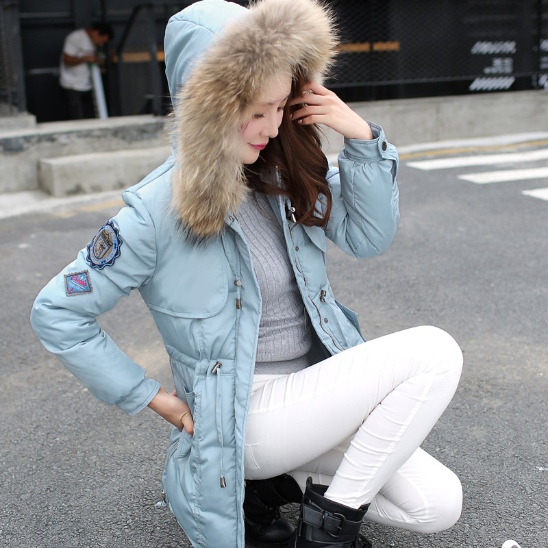 Winter Jacket Women Big Size Cotton Jacket Women's Clothing Fur Collar Hoodies Quilted Jackets For Women Casual Parka Coat C1396