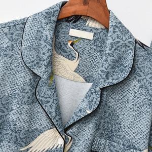 Image 3 - Autumn&Winter Womens Pajamas Set 100% Cotton Korean Long Sleeve Sweet Loose Sweaters Women Sexy Sleepwear Cartoon Pyjamas Sets