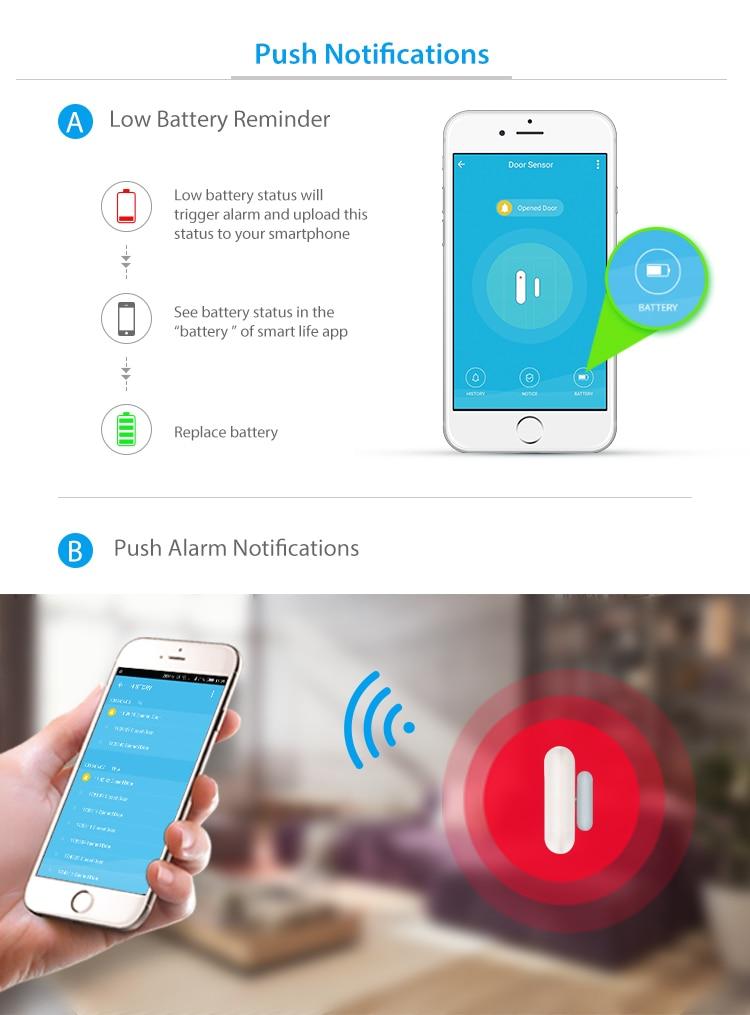 TUYA Smart Home Video Alarm Kit Concluding 720P Cameras 3 sensors 1 Siren Alarm All Support Wifi with SmartLife TUYA Smart APP_F12