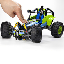 New Technic Series 494pcs 2 Models In 1 Off-Roader Car Building Blocks Bricks Model Kids Toys Compatible With Lepin