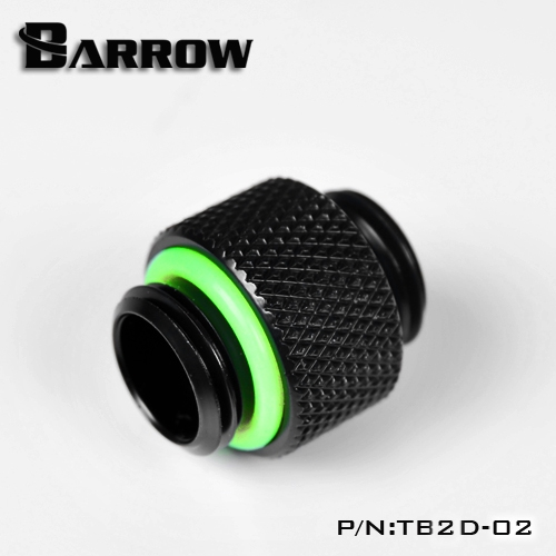 Barrow G1 / 4 '' Dual External Thread Connection Double Male Adapter Thread Connection For Water Cooling System TB2D-02