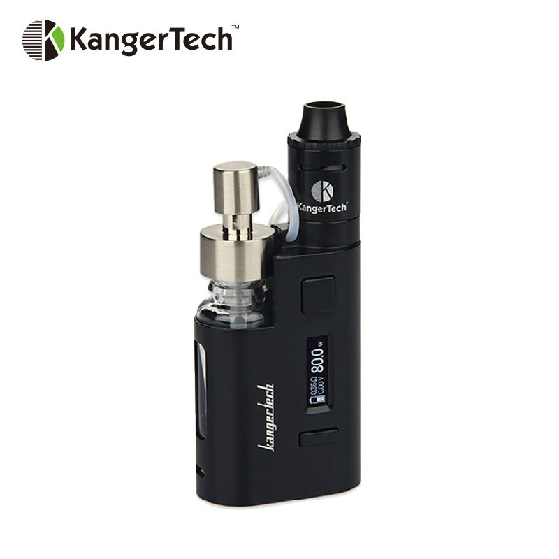 Clearance 80W Kangertech DRIPEZ Starter Kit with 0.3ohm Push RBA & Two Pumps 15ml/16.5ml Huge Capacity OLED E-cigarette Vape KitClearance 80W Kangertech DRIPEZ Starter Kit with 0.3ohm Push RBA & Two Pumps 15ml/16.5ml Huge Capacity OLED E-cigarette Vape Kit