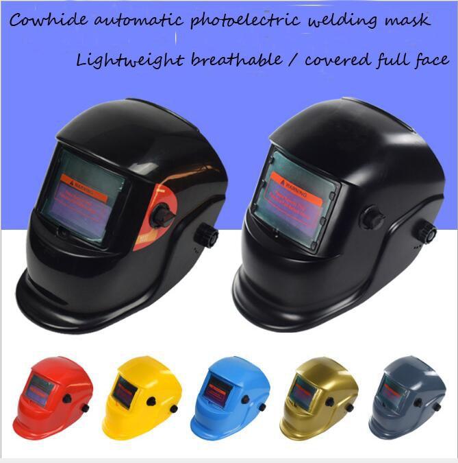Verantwortlich Solar Automatische Photoelektrische Schweißen Maske Schweißen Helm Argon Arc Schweißen Kappe Schweißen Maske Entlastung Von Hitze Und Sonnenstich Schutzhelm Arbeitsplatz Sicherheit Liefert