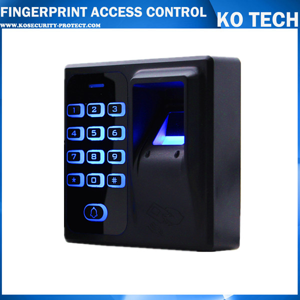 125KHz Reader Fingerprint Access Control Fingerprint Reader Sensor RFID Access Control System KO ACCESS CONTROL KOTECH CARD biometric fingerprint access controller tcp ip fingerprint door access control reader
