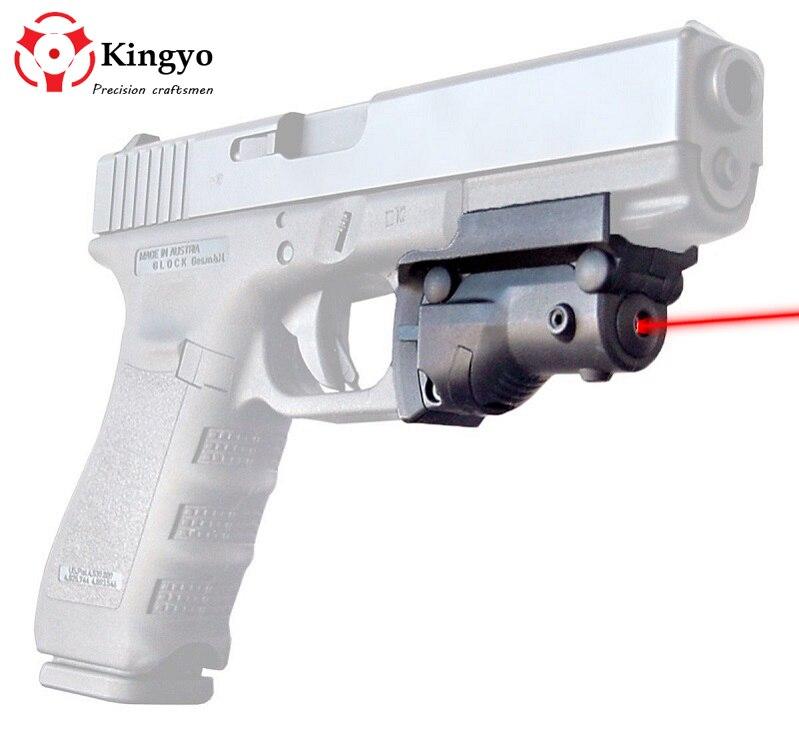 Тактический 5 мВт красный лазерный прицел Красная точка для Glock 19 23 22 17 21 37 31 20 34 35 37 38 пистолет винтовка страйкбол охота
