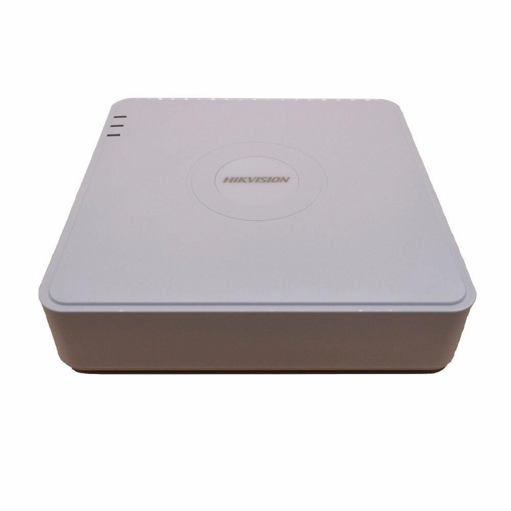 NVR DS-7104N-SN/P DS-7108N-SN/P 4ch/8ch PoE Réseau enregistreur vidéo HD 1080 p langue anglaise