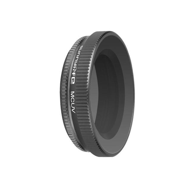Adjustable Lens Filter Optical Glass Lens Camera MCUV Filter for DJI OSMO Action Gimbal Camera Accessories