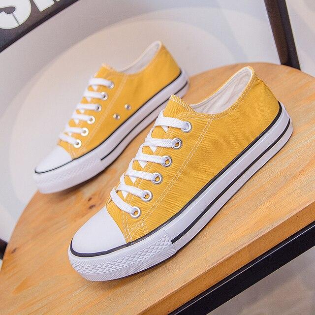 2018 nuovi di modo Coreano caldo scarpe di tela originale selvaggio confortevole scarpe casual di tendenza via battere scarpe basse