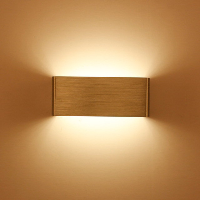 simple LED Wall lights Wall Mounted Indoor Decoration wall Light ...