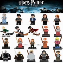 Legoing Harry Series Building Blocks Action Figure Hermione Jean Granger Ron Model Set Legoings Movie Figures Toys For Children(China)