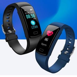 Image 5 - 2019 Col Mi Band 3 Fitness Tracker avec mesure de pression Hey plus Bracelet intelligent podomètre sport montre intelligente pression artérielle