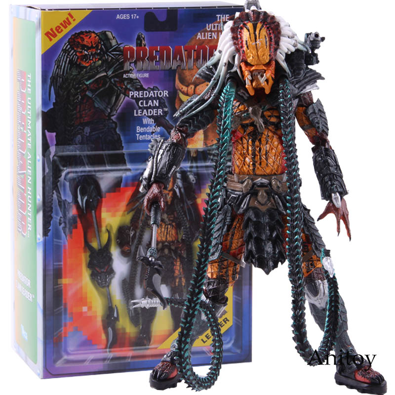 Anime The Ultimate Alien Hunter Predator Kenner Leader Clan chief Action Figure Collectible Model Toy Gift
