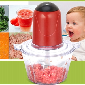 Image 4 - Automatic Powerful Electric Meat Grinder Multifunctional Electric Food Processor Electric Chopper Meat Slicer Cutter Blender(E