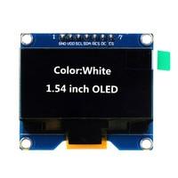 1 54 Inch White OLED Display Module 128x64 SPI Interface OLED Screen Board 3 3 5V