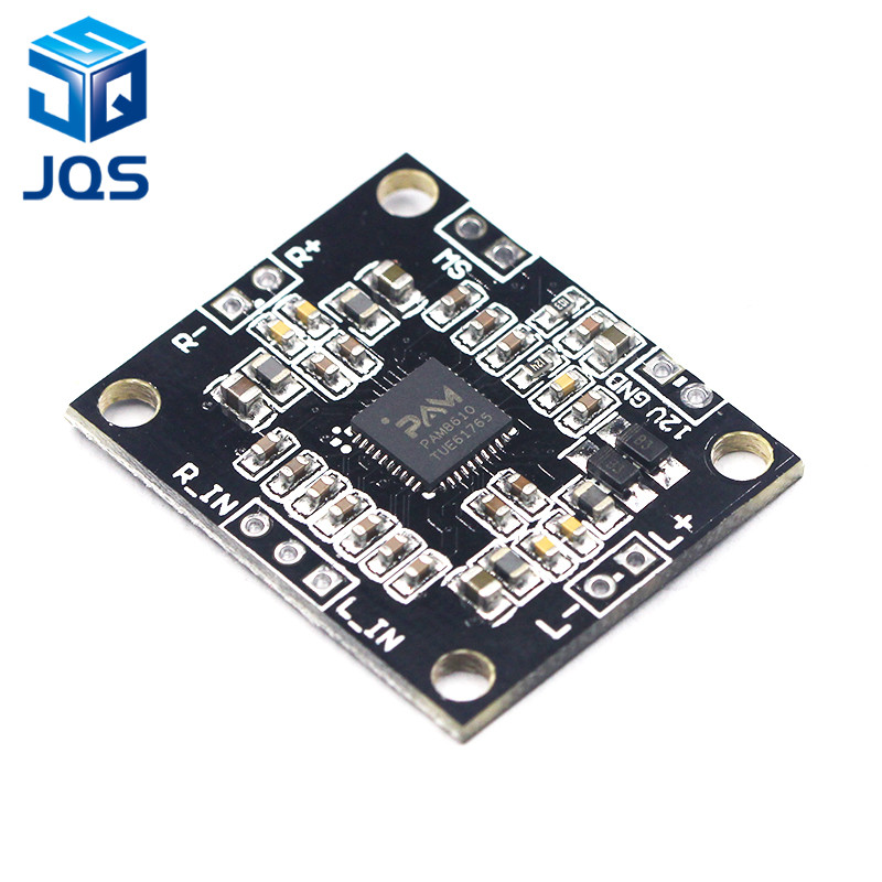 PAM8610 Digital Power Amplifier Board 2 X15w Dual Channel Stereo Mini Class D Power Amplifier Board