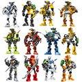 Звездный Воин солдаты Bionicle Hero завод всплеск Evo Stringer фигурки роботов строительные блоки кирпичи детские игрушки