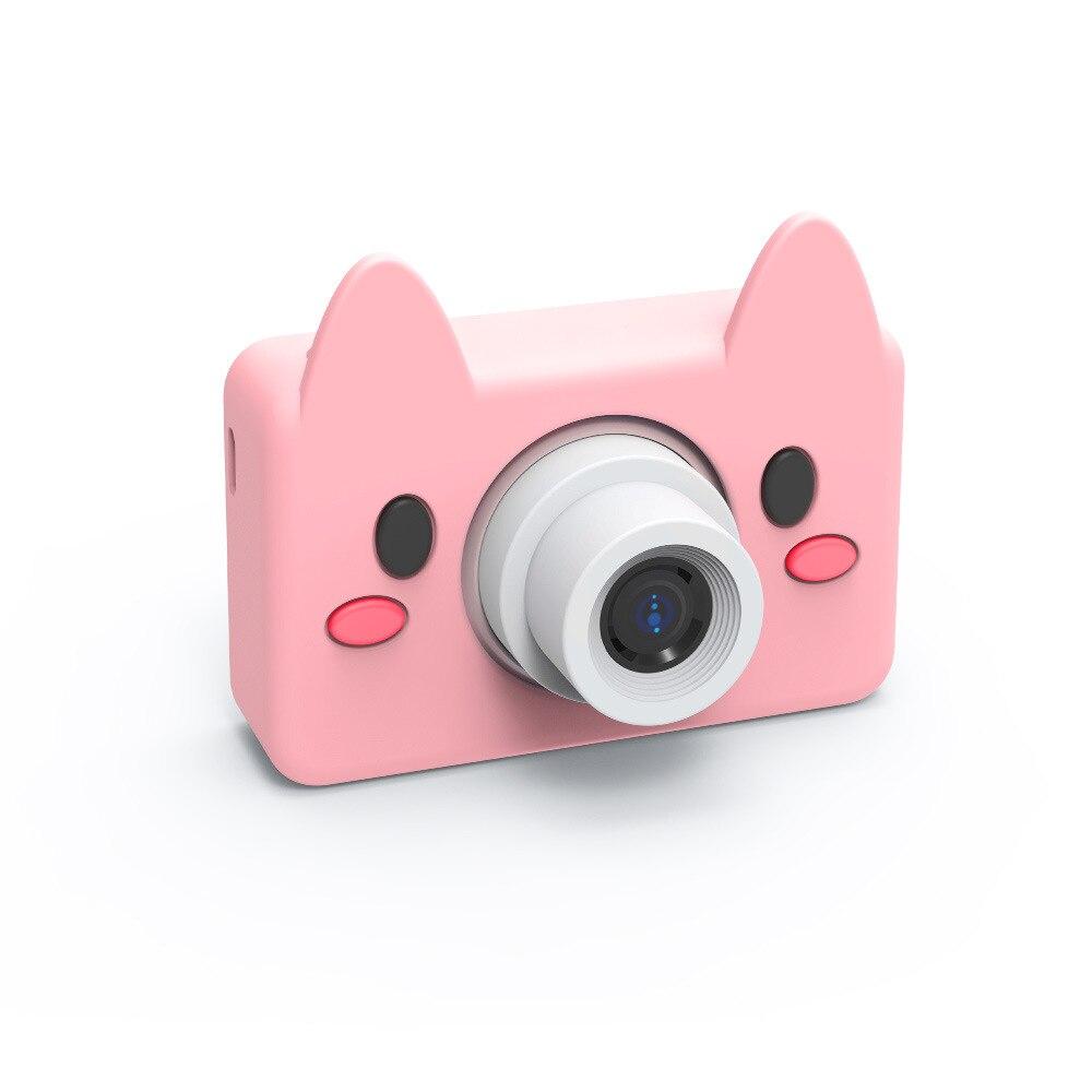 Jouet caméras 8MP bande dessinée caméra HD vidéo Mini caméra caméscope pour enfant bébé cadeaux 2.2 pouces numérique vidéo créative bricolage 8 GB mémoire - 5