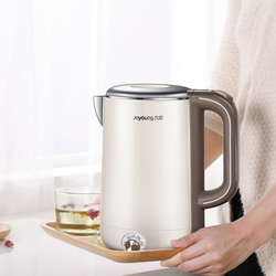 220V Joyoung Electric Water Kettle K17-W67 1.7L Capacity Temperature Setting Fast Boiling Water Insulation Kettle