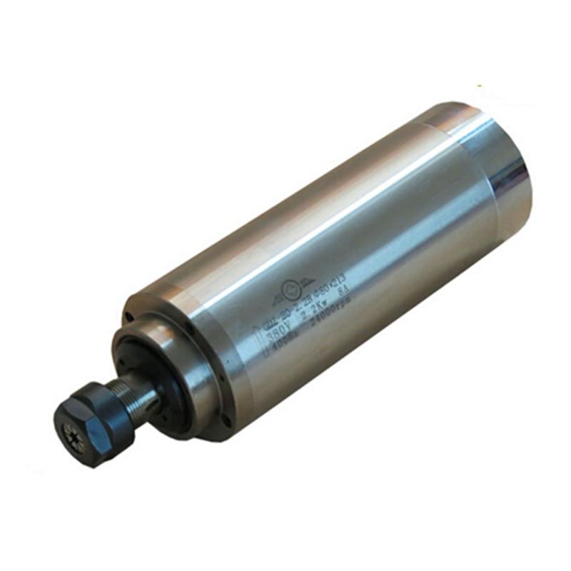 Здесь можно купить  cnc Water Cooled Spindle Motor 800W 1500W for Engraving Machine With 4 Bearings  Инструменты