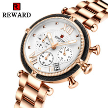 2019 new ladies watch fashion three eyes six needles with calendar quartz sports womens