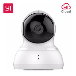 YI Dome Camera Pan/Tilt/Zoom Wireless IP Security Surveillance System HD 720p Night Vision YI Cloud Available