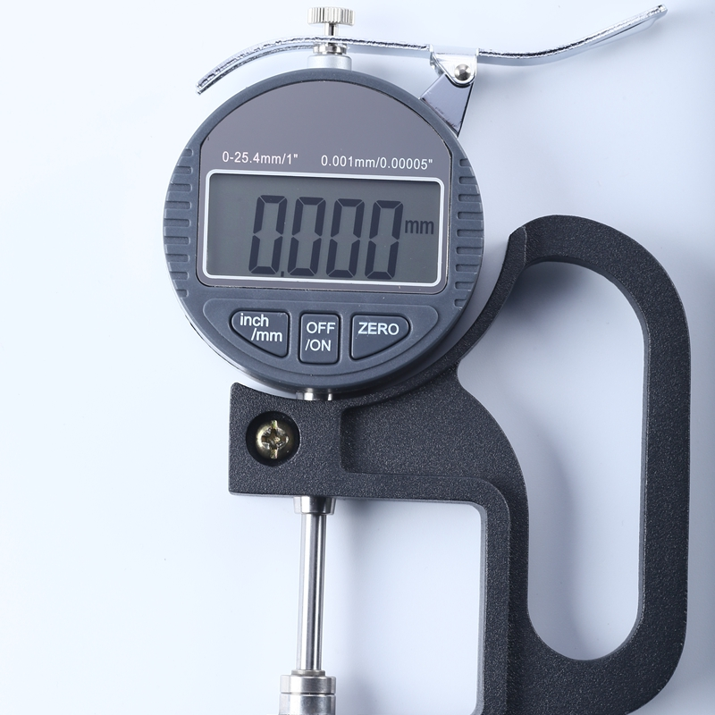 New LCD Display Digital Thickness Gauge 0-25mm for Wire Sheet Jewelry Leather US