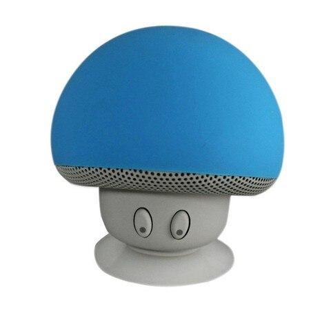 Wireless Bluetooth Mini Speaker Mushroom Waterproof Silicon Suction Cup Handfree Holder Music Player for Iphone Smart phone Islamabad