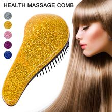 Anti-static Straight Hair Massage Comb Magic Styling Salon Health Care Comb Brush DC88 for head massager professional health care comb anti static massage green sandalwood comb handmade bamboo hair brush wedding birthday gift