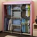 Дважды емкость простой ткань гардероб просто доказательство ткани ткань гардероб большая стали сочетание