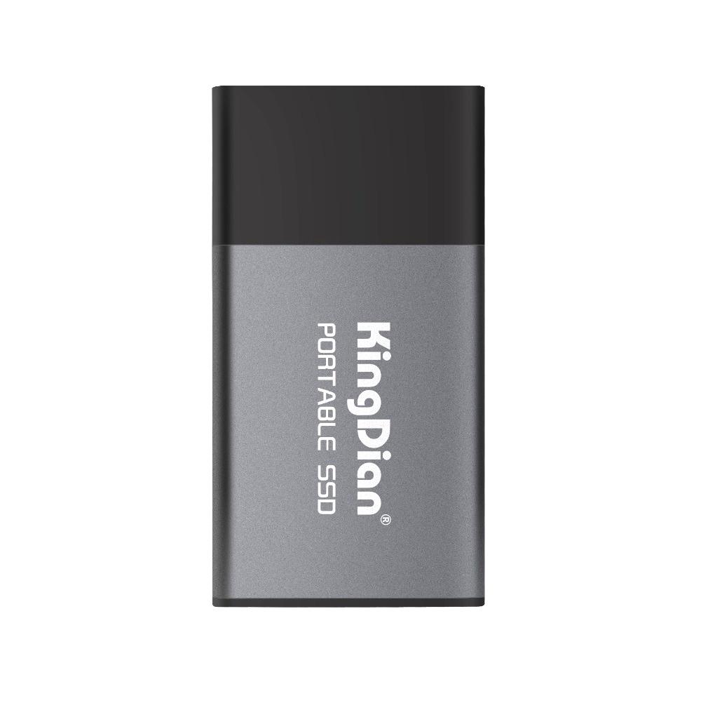 KingDian Portable 500 GB 250 GB 120 GB SSD USB 3.0 3.1 Externe Solide State Drive Meilleur cadeau pour les hommes d'affaires