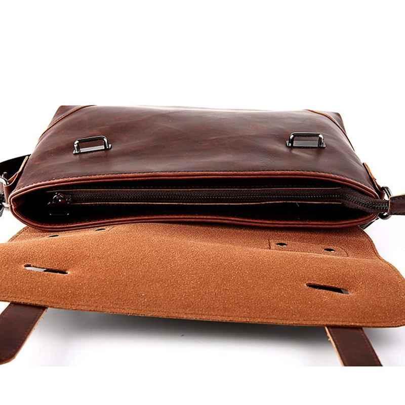 GUMST Crazy Horse кожа для мужчин's портфель, плечевая сумка для нежных мужчин enjoymen t case портфель офисная сумка