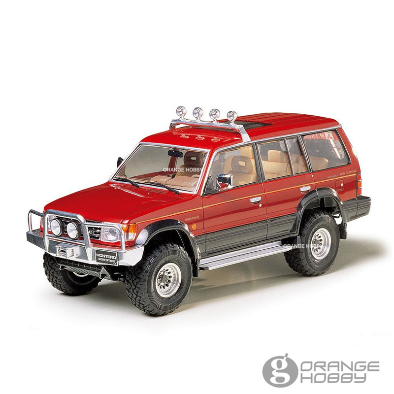 OHS Tamiya 24124 1 24 Montero w Sport Options Scale Assembly Car Model Building Kits G