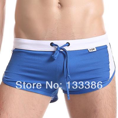 Embutido jockstrap quick-secagem calções de fitness calças de pijama em casa aro boxer calcinhas calças de salão masculino