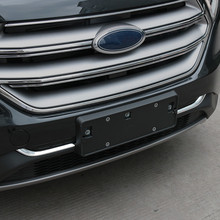 Car Auto Cover Styling For Ford Edge  Abs Chrome Lower Grille Racing Grill