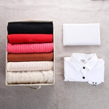 10Pcs Creative Washable T-shirt Quick Clothes Folding Board Household Practical&Convenient Storage